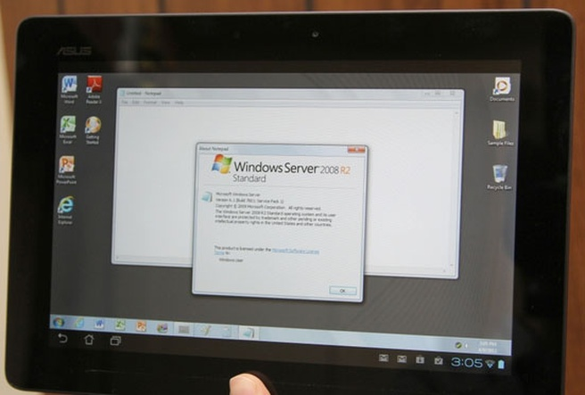 OnLive streamt Windows Server 2008 naar tablets