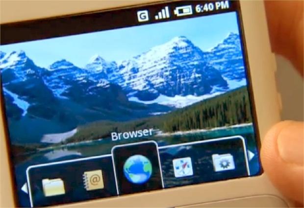 Uit de oude doos: interface van Android begin 2008
