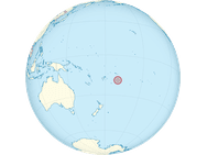 Het eiland Niue