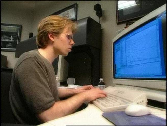 John Carmack schrijft Doom 3-code