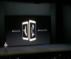 iPhone 6s op Apple-event 9-9
