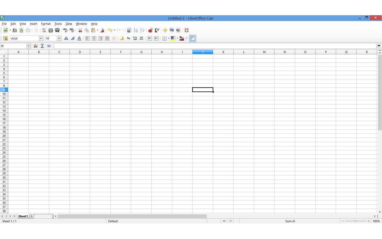 LibreOffice 4.0 - Calc