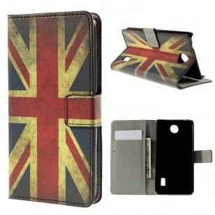qMust Huawei Y635 wallet case - hoesje met stand - UK