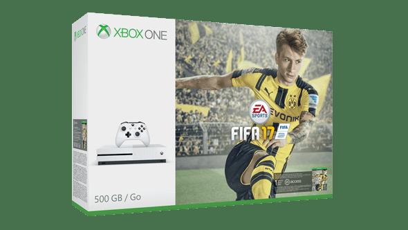 Xbox One S met FIFA 17