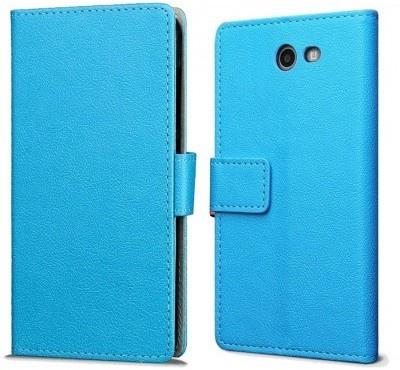 qMust Samsung Galaxy J7 (2017) Wallet Hoesje Blauw