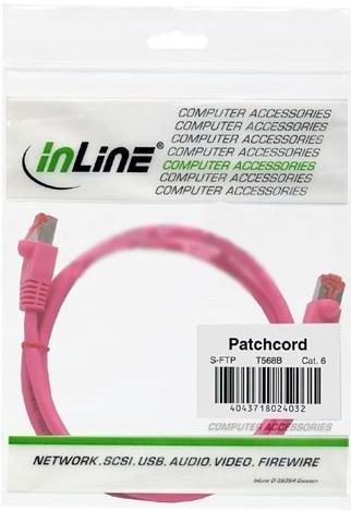 InLine 1m S-STP/PiMF Cat. 6