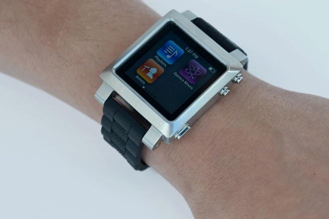 iPod Nano met horlogeband