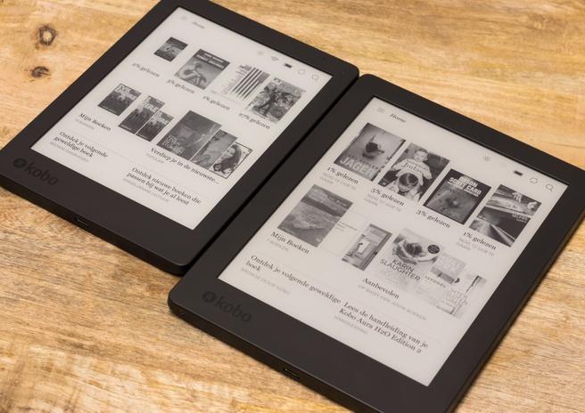 Kobo Aura 2nd Edition en Kobo Aura H2O Edition 2