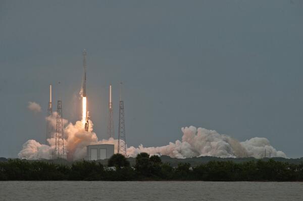 Lancering SpaceX-missie CRS-3