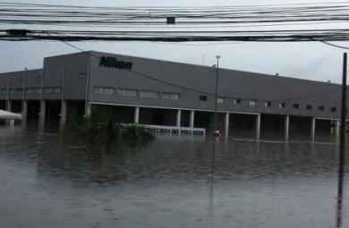 Nikon overstromingen