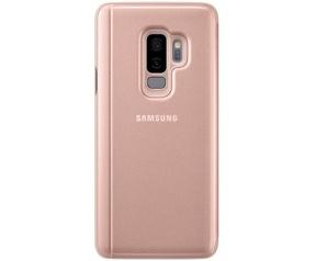 Samsung Galaxy S9+ ClearView Standing Cover EF-ZG965CF - Roségoud  Rosé Goud