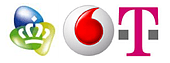 KPN T-Mobile Vodafone