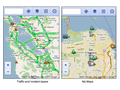 Google Maps - mobile website