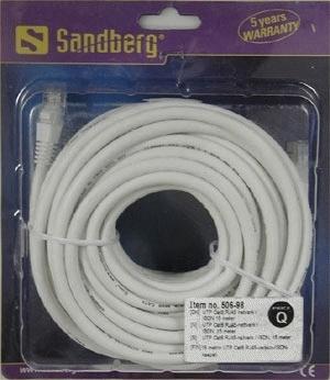 Sandberg Network Cable UTP Cat6 15 m