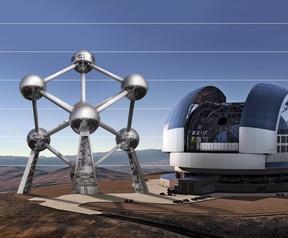 European Extremely Large Telescope vergelijkingen
