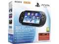 Goedkoopste Sony PlayStation Vita 3G + Motorstorm RC (voucher) + 4GB Zwart