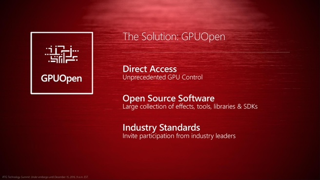 AMD Radeon Technology Group GPUOpen