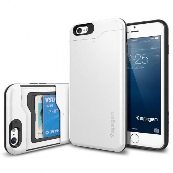 Spigen Case Slim Armor CS Apple iPhone 6 Plus SGP10911 (Shimerry White) voor iPhone 6 plus