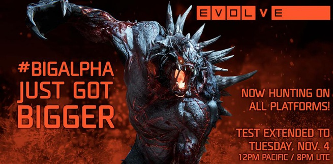 evolve alpha-test