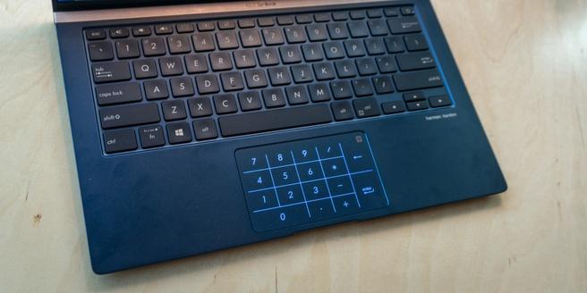 Asus Zenbook NumberPad