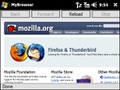 Firefox Mobile op Windows Mobile