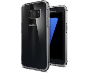 Spigen Crystal Shell Samsung Galaxy S7 Case Zwart