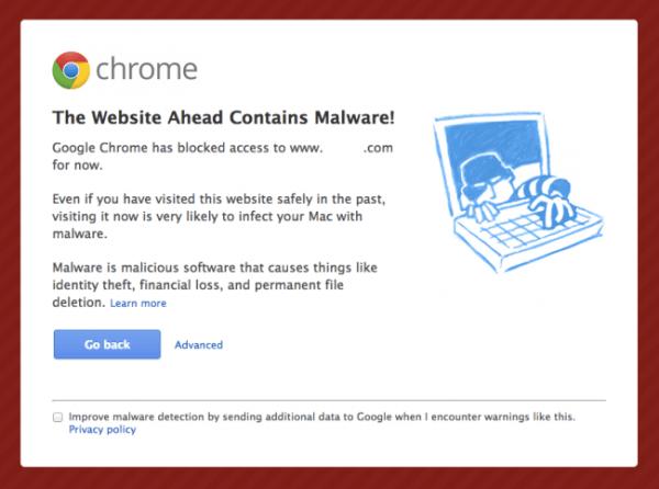 malware banner