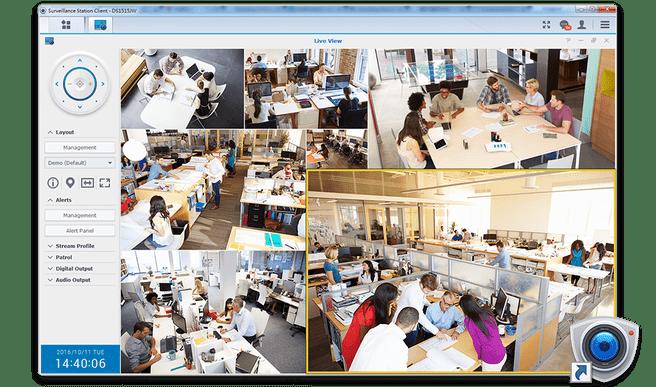 Synology Surveillance Station desktop client