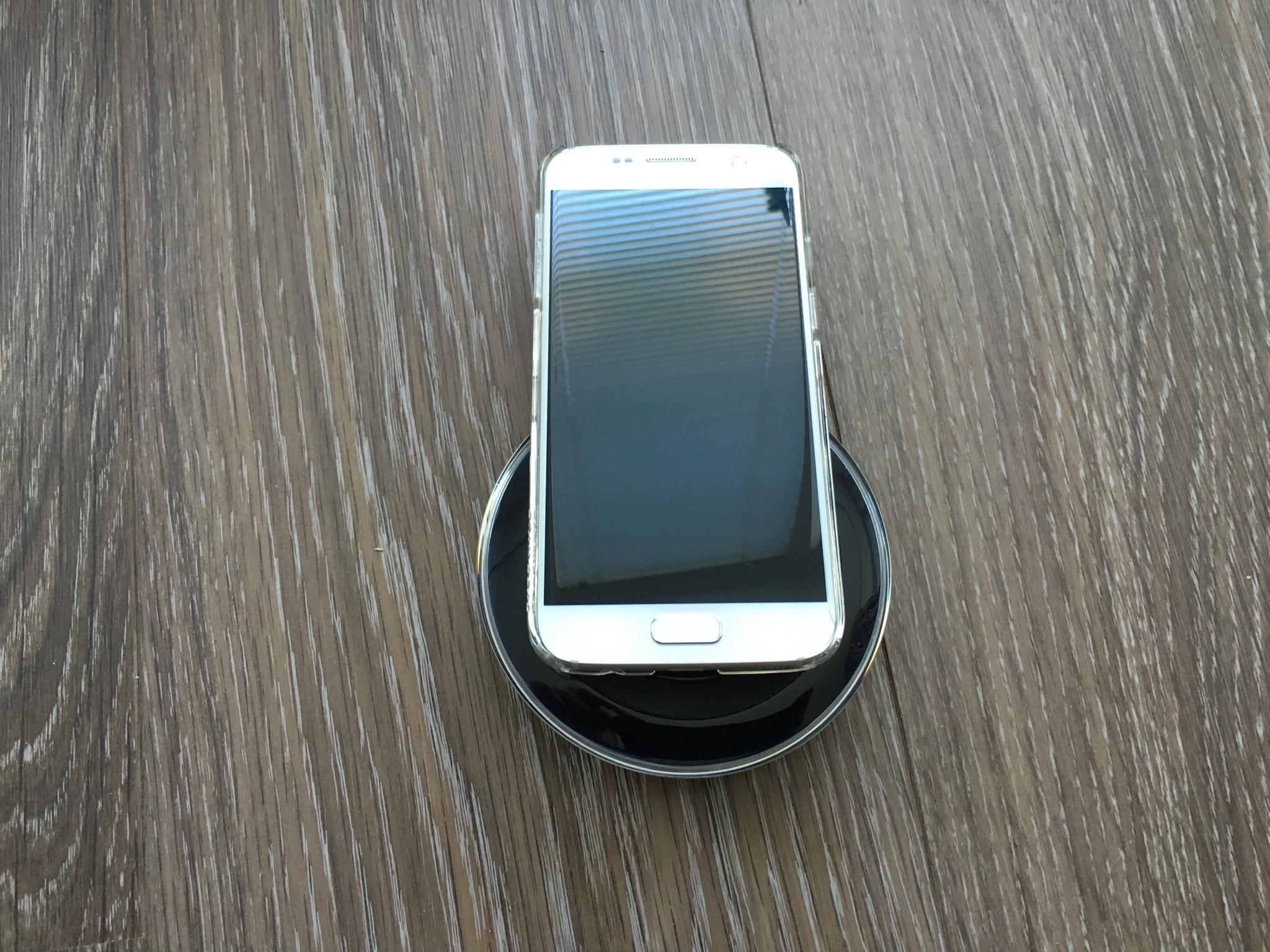 Samsung S7 op de rand