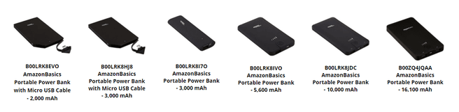Amazon-powerbanks