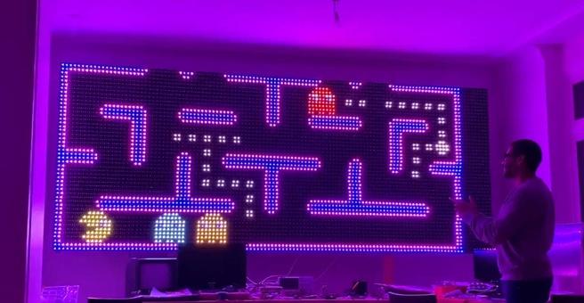Yves Bazin ESP32 Pac-Man