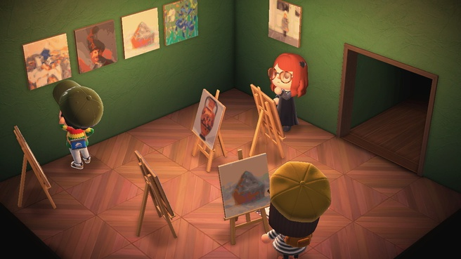 Getty Museum Animal Crossing