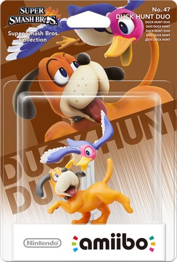 Amiibo Duck Hunt Duo, Wii U
