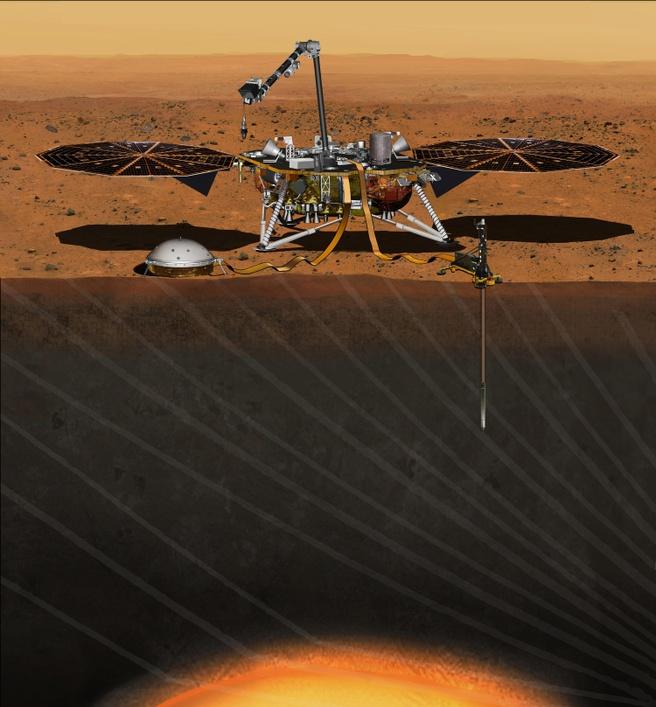 NASA Marslander InSight