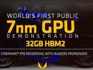 AMD presenteert Vega-gpu met 32GB hbm2