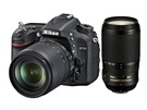 Nikon D7100 + AF-S DX 18-105mm f/3.5-5.6G ED VR + AF-S Nikkor 70-300mm f/4,5-5,6G VR Zwart