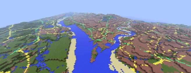 VK-kaart in Minecraft