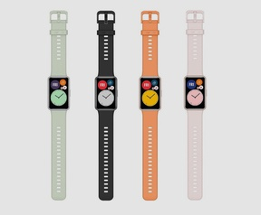 Huawei Fit Watch. Bron: Wareable