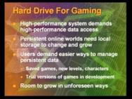 Xbox aankondiging slides