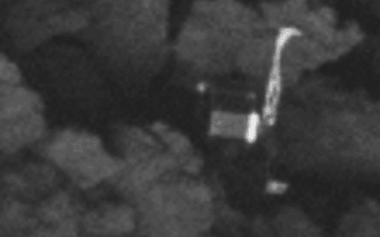 Philae vondst