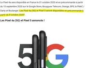 Google: Pixel 5 komt 8 oktober
