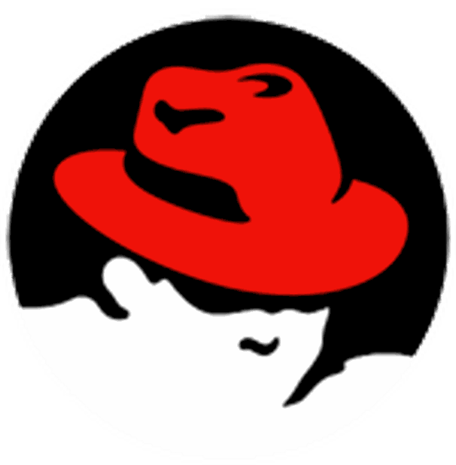 Red Hat logo transparant