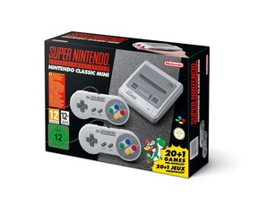 SNES mini EU VS