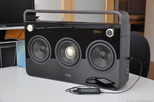 TDK Three Speaker Boombox