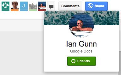 Google Drive chat