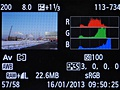 Canon EOS 6D weergavestanden afspelen