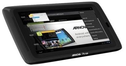 Archos Arnova 7d G3 4GB Zwart