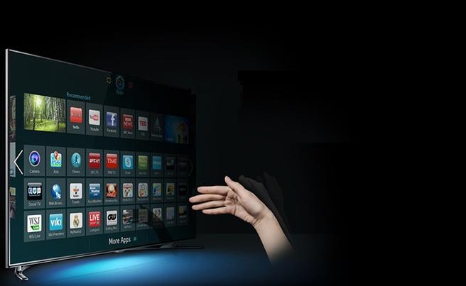 Tizen smart tv van Samsung