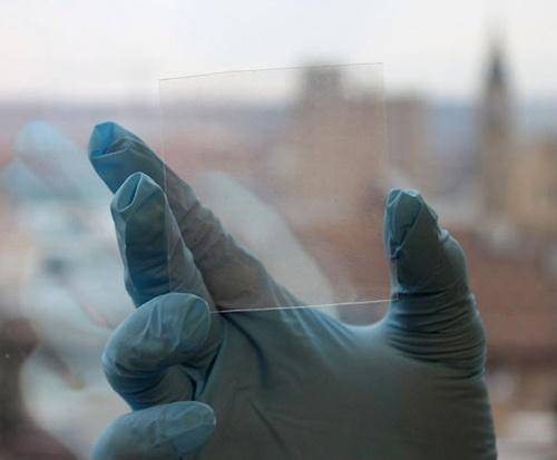Stevige, flexibele touchscreens