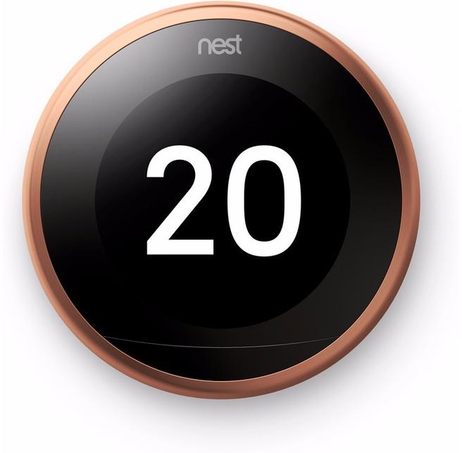 Nest Learning Thermostat V3 (Koper)